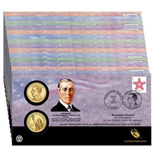 Presidential Coin Covers
