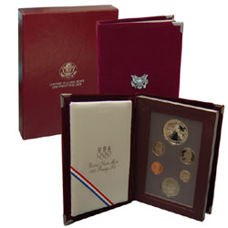 1988 Prestige Proof Set